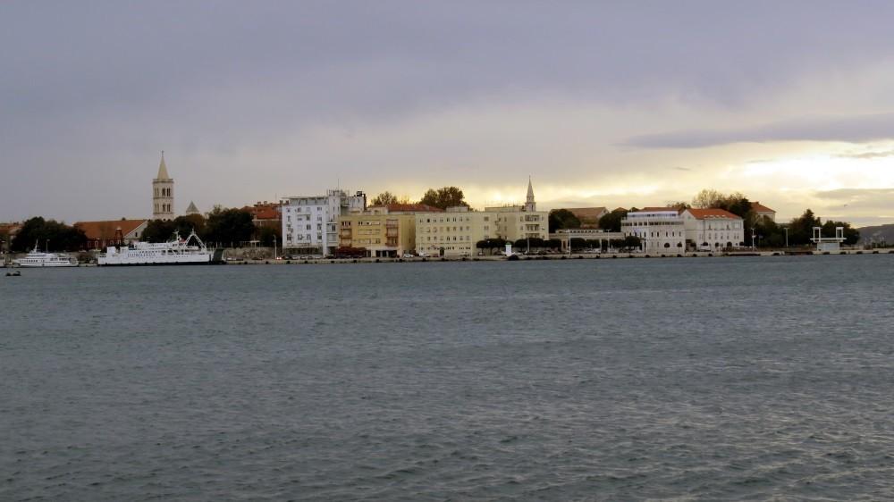 Unser Blick auf Zadar