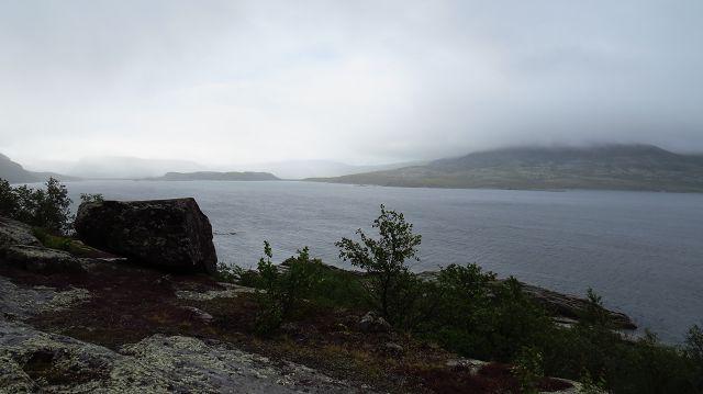 Panoramastrasse im Stora Sjöfallet NP