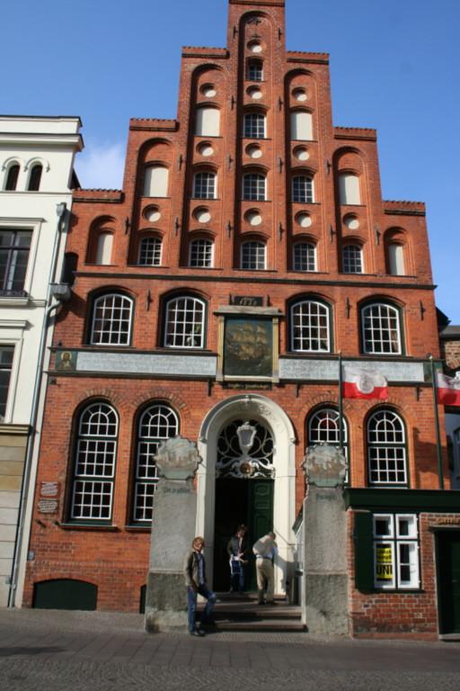 Lübeck, Haus der Schiffergesellschaft