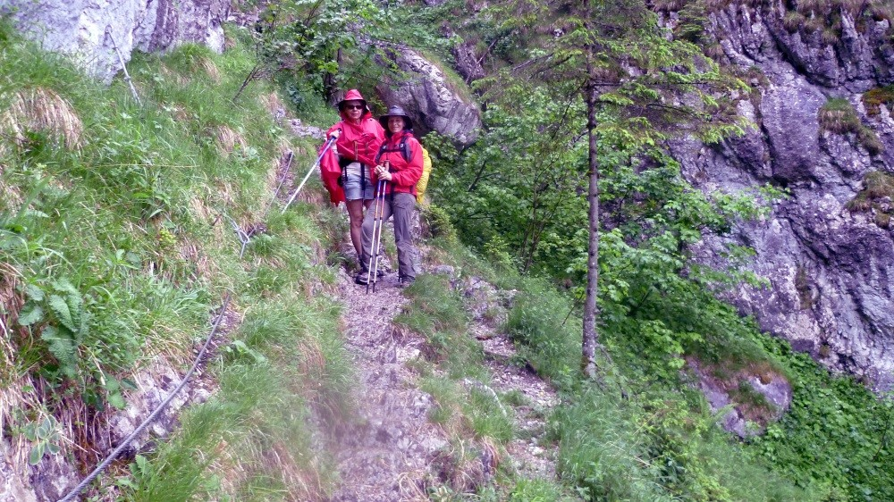 ...mit Abstieg über den Rinnkendlsteig nach...