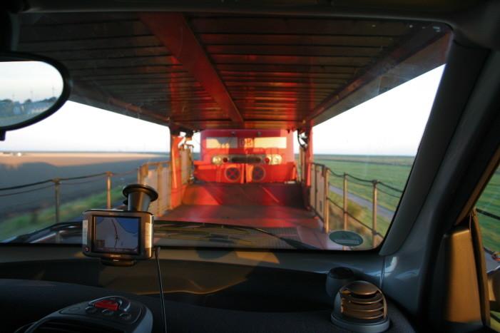 6:30 Uhr, wir starten nach Westerland