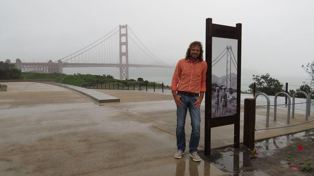 Und nochmal zur Golden Gate