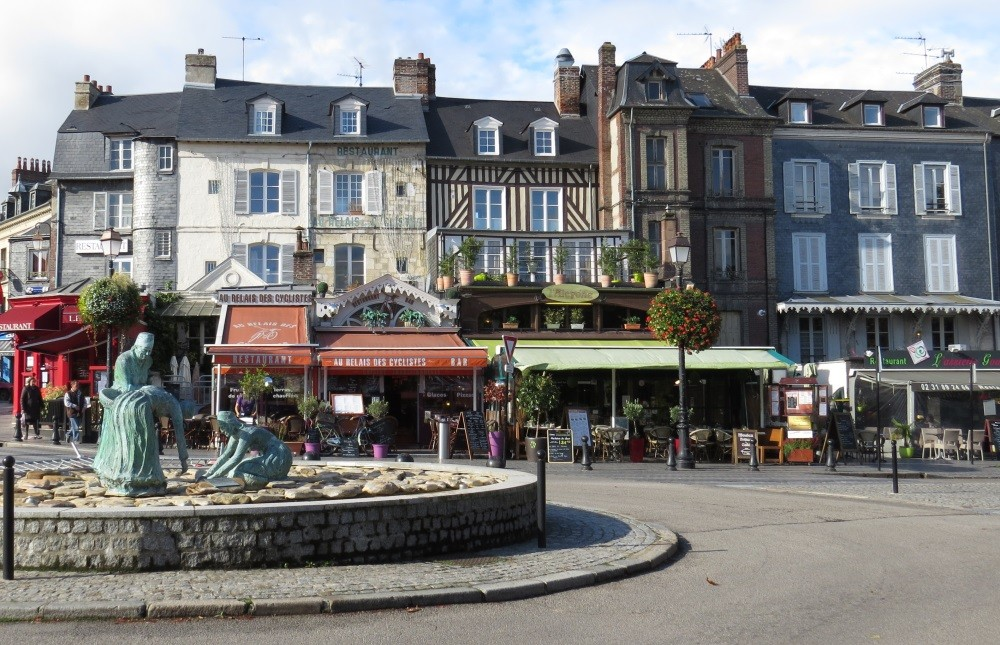 Unterwegs in Honfleur