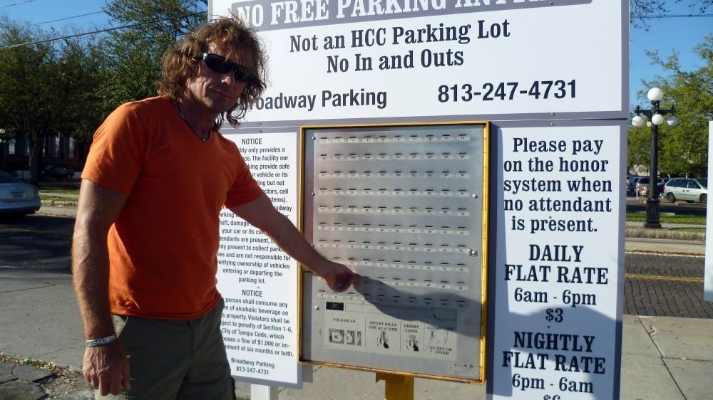 Parkautomat der anderen Art