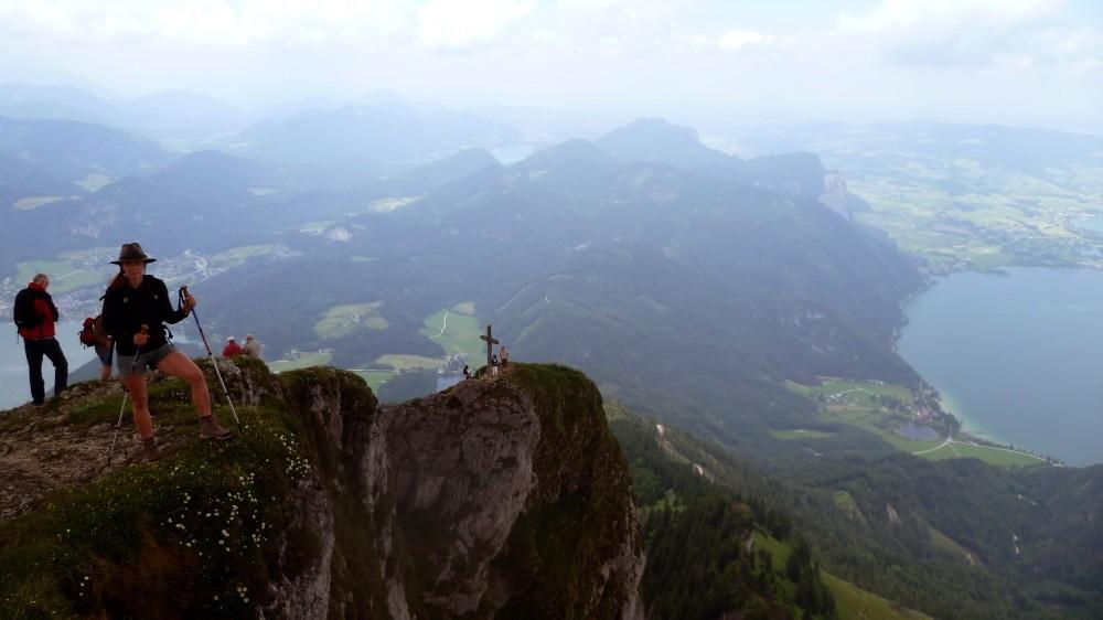 Wir wandern 1250 m bergauf UND 1250 m bergab