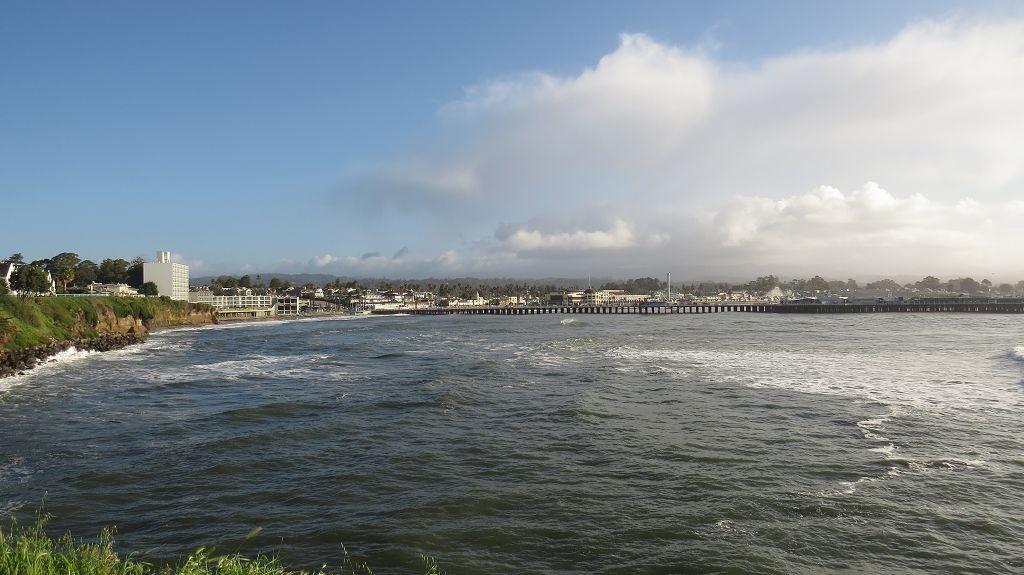 Santa Cruz, Blick auf Pier und Boardwalk