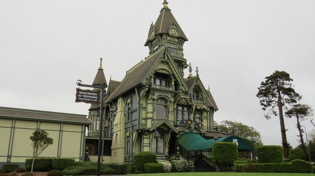 Carson House in Eureka