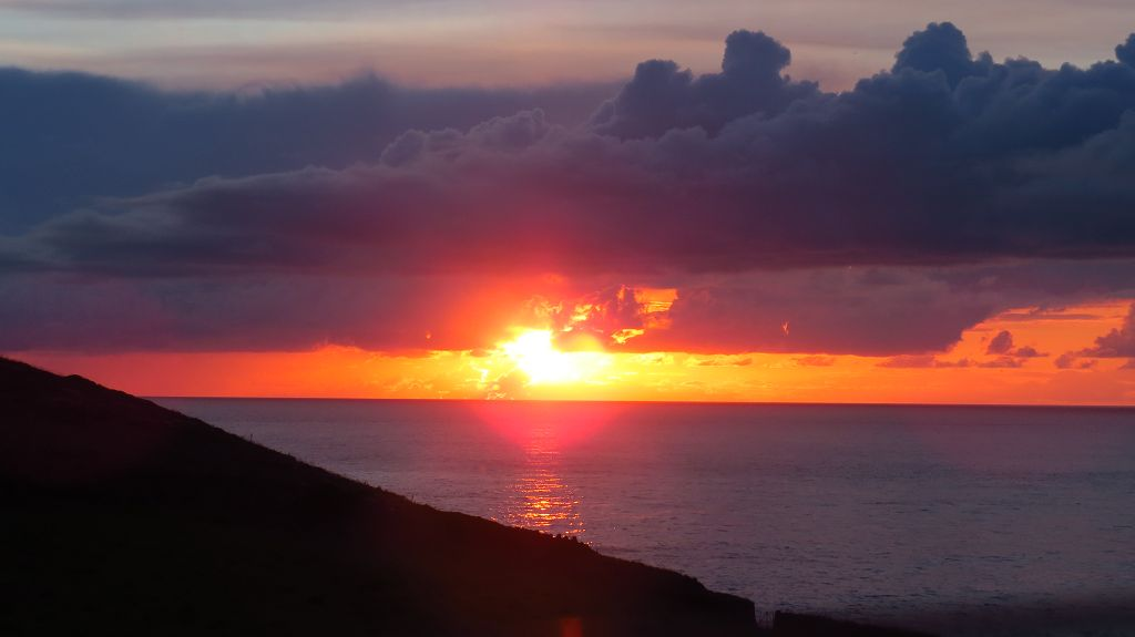 Sonnenuntergang am Cape Cornwall