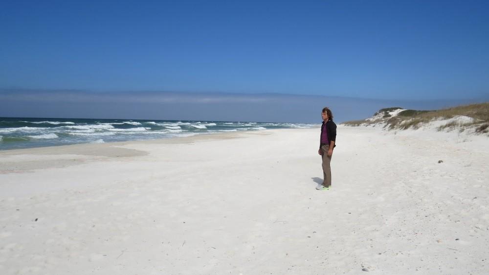 ...und tollem Sandstrand