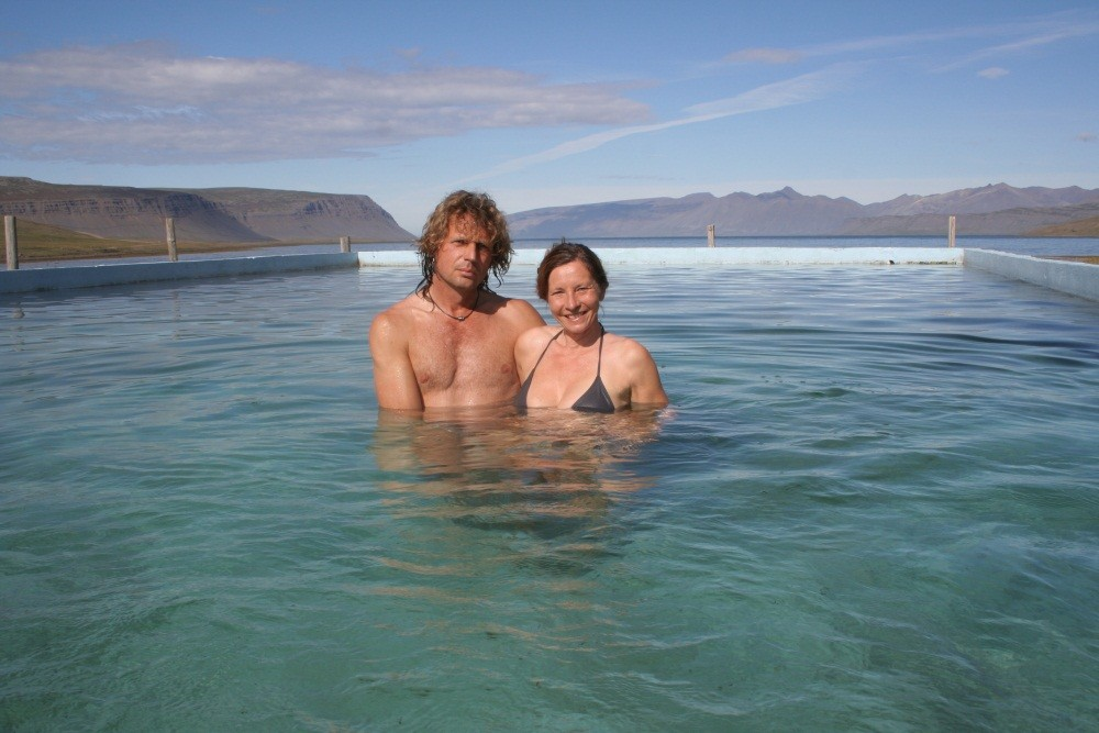 Pool am Reykjarfjord