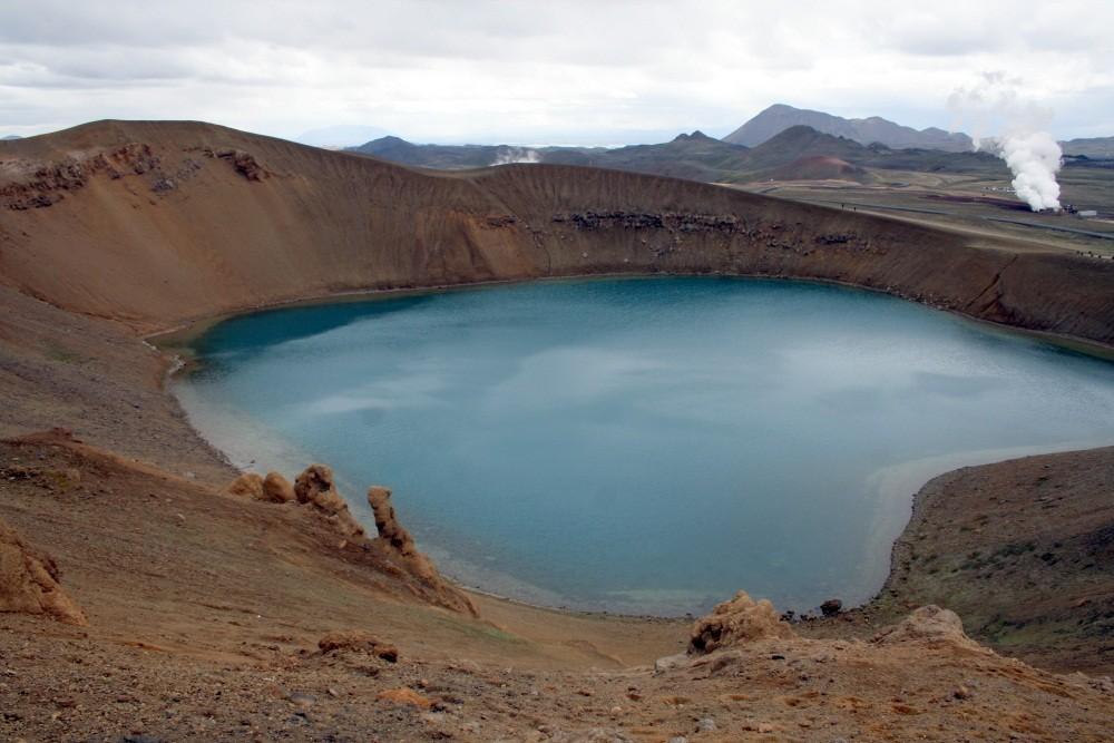 Viti, der Kratersee an der Krafla