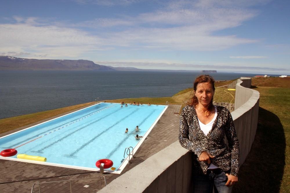Auch hier gibt es ein Schwimmbad.