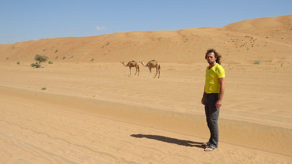 Wir Fahren zu unserem Luxus-Wüstencamp