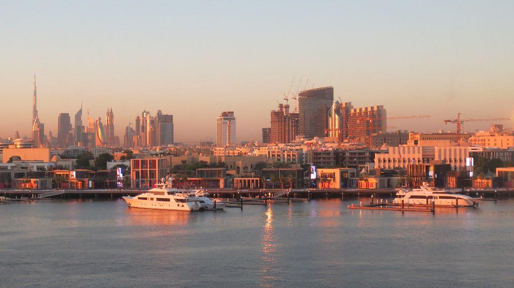 Good Morning Dubai, wieder Blick aus unserem Hotelzimmer