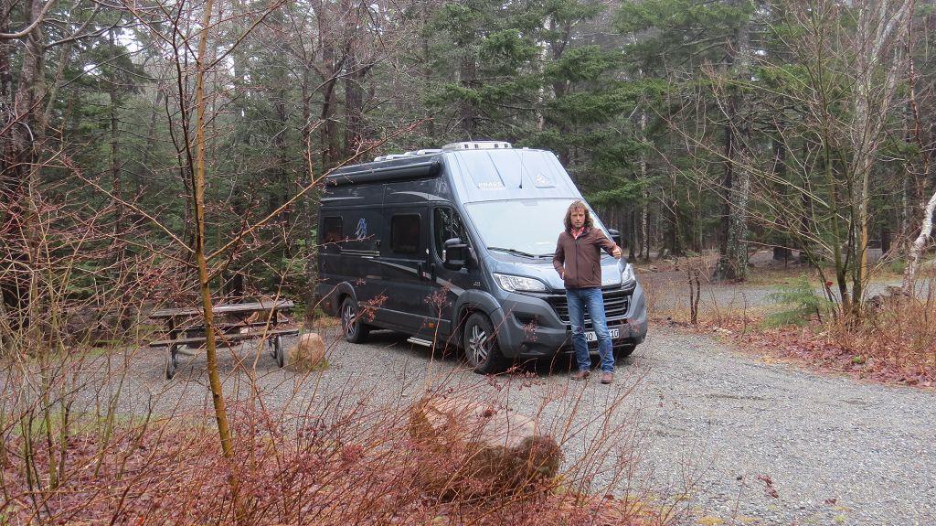 Unser erster Campingplatz auf dieser Tour