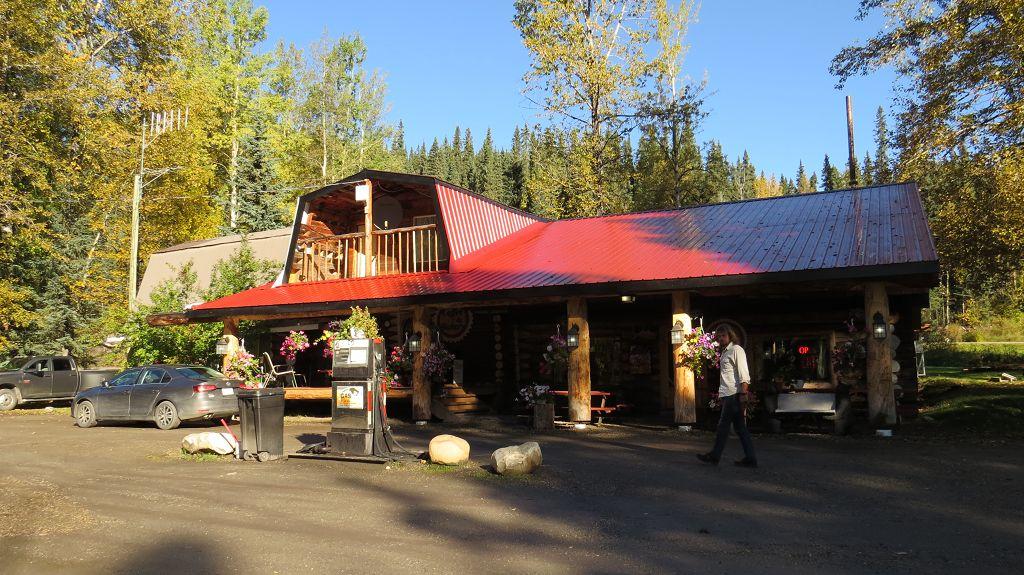 Schnell noch Zimtschnecken kaufen in der Lodge