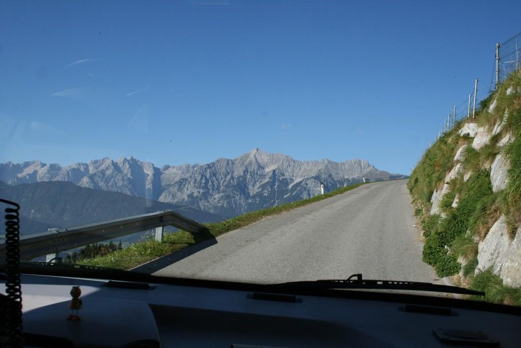 Straße nach Weerberg