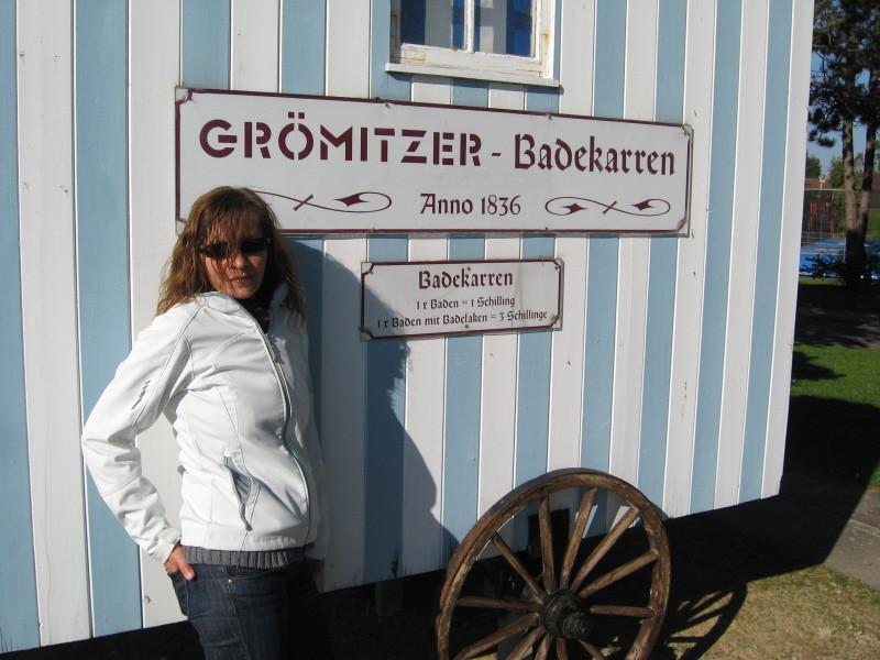 Badekarren in Grömitz