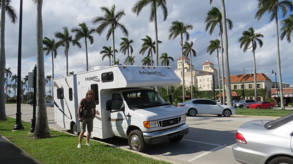 Stopp in Palm Beach
