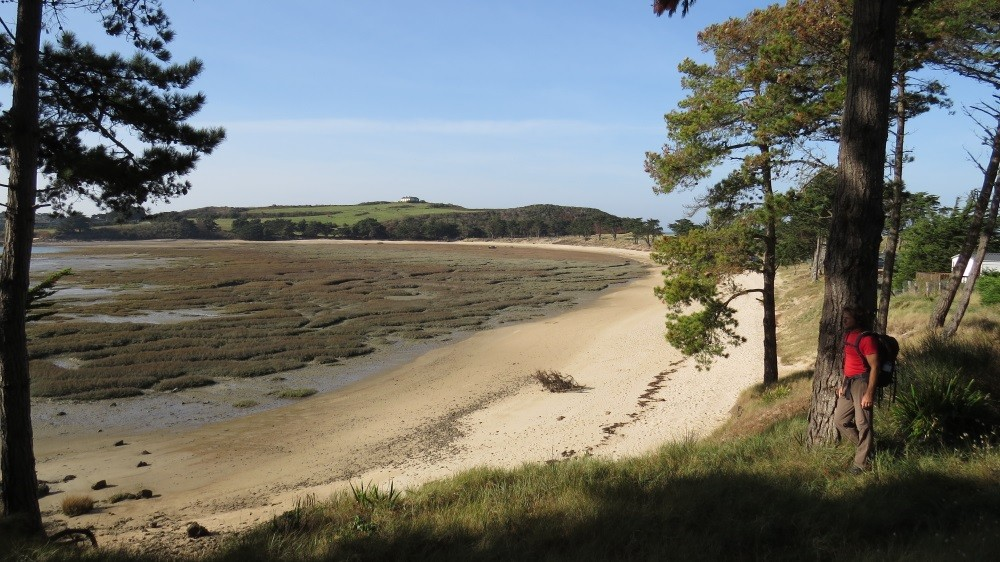 Küstenwandern zum Pointe du Meinga