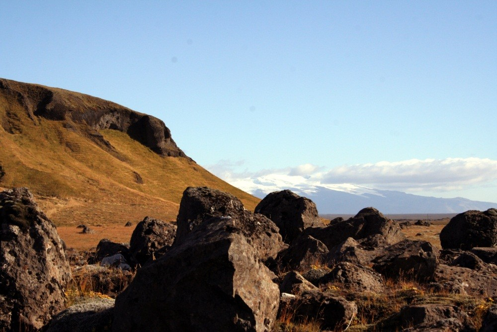 Blick zum Vatnajökull (dann in der nächsten Slide-Show)