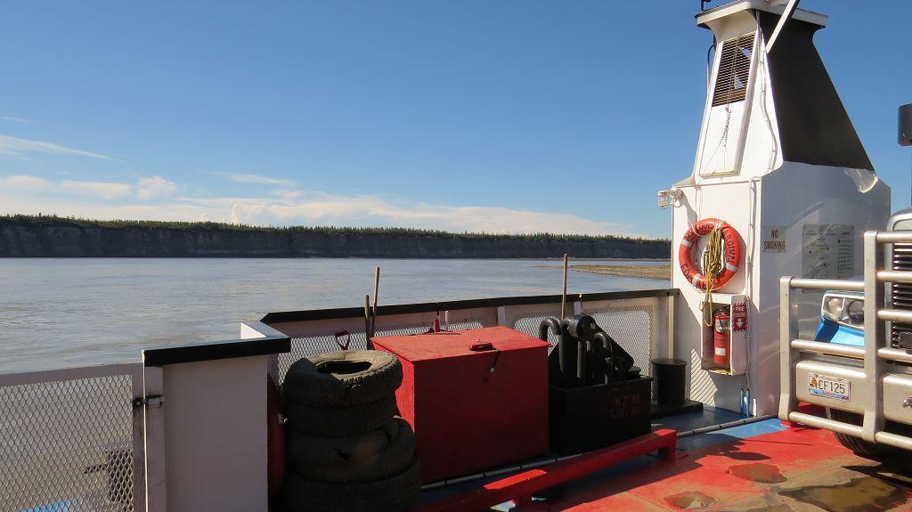 ...über den Mackenzie-River