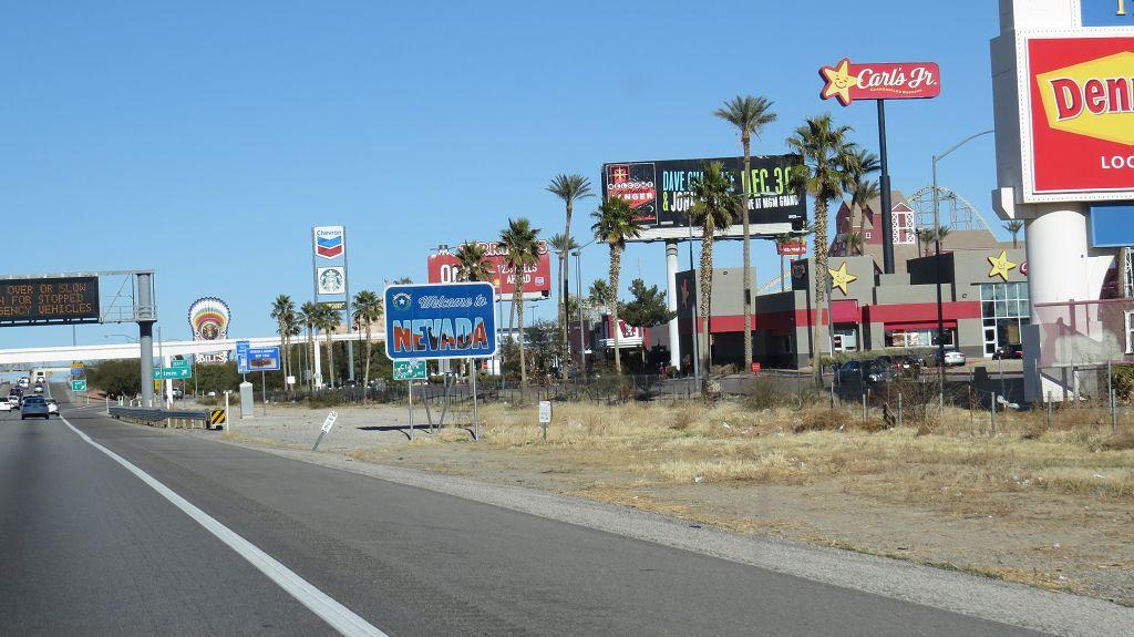 Wir erreichen Nevada