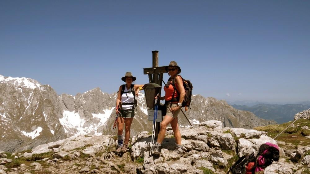 Gipfelkreuz Schneibstein auf 2276 MüM