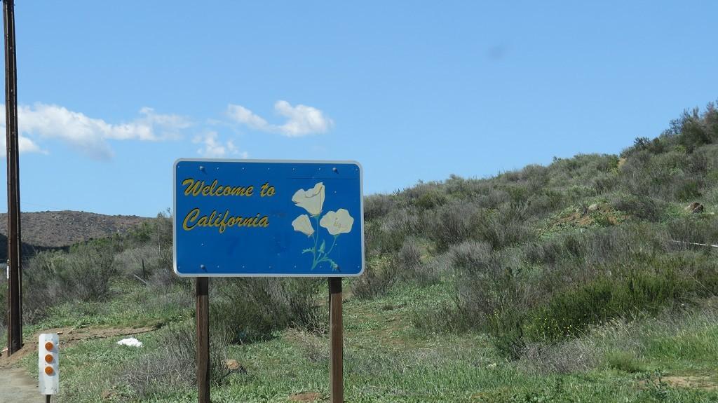 ...in Kalifornien