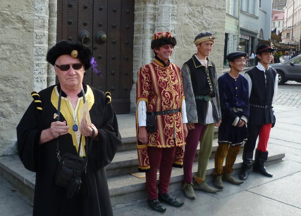 Mittelalterfest in Tallinn