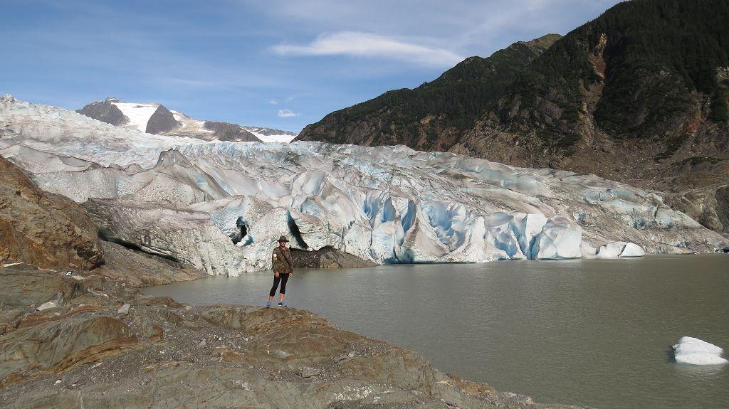 ...und laufen bis zum Gletscher