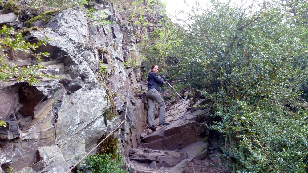 Calmont-Klettersteig bei Bremm