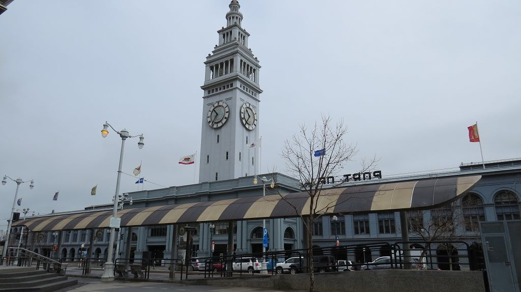 Ferry Building an der Waterfront
