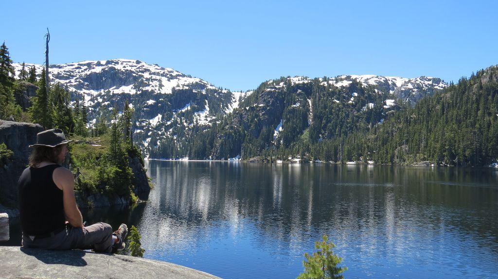 Wanderung zum Tennent Lake
