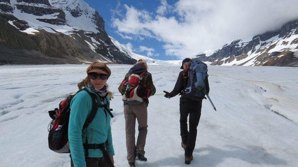 Icewalk mit Peter KLASSE !