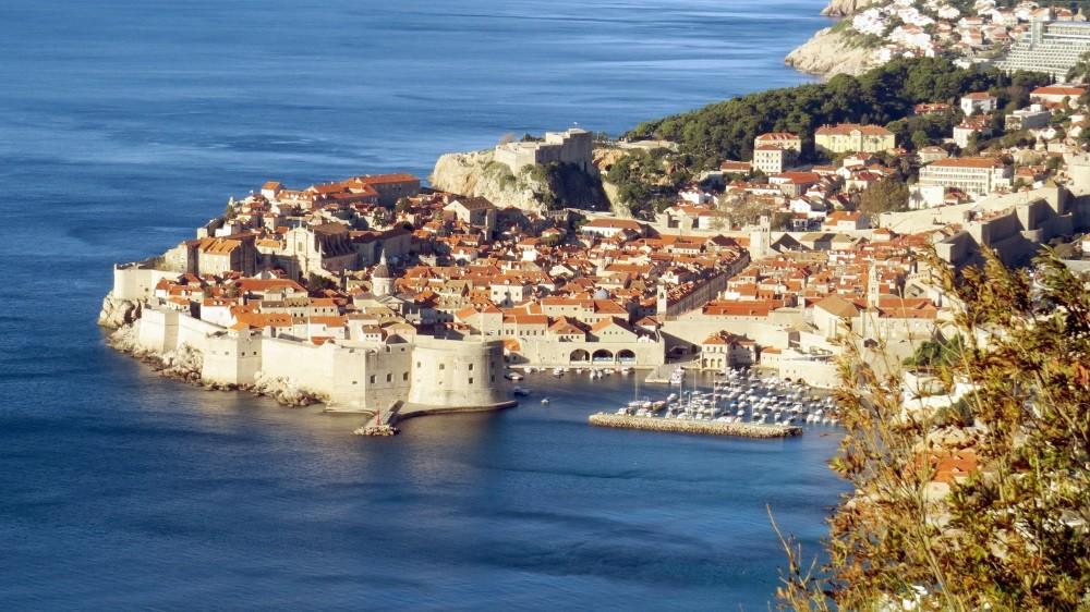 Blick auf Dubrovnik...