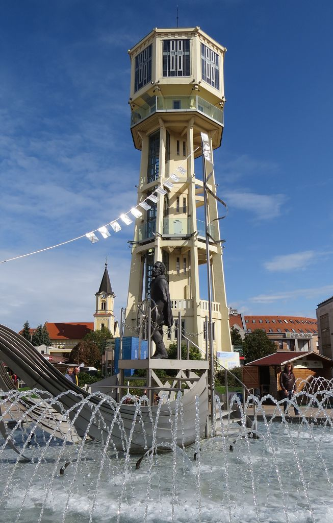 Tower in Siofok