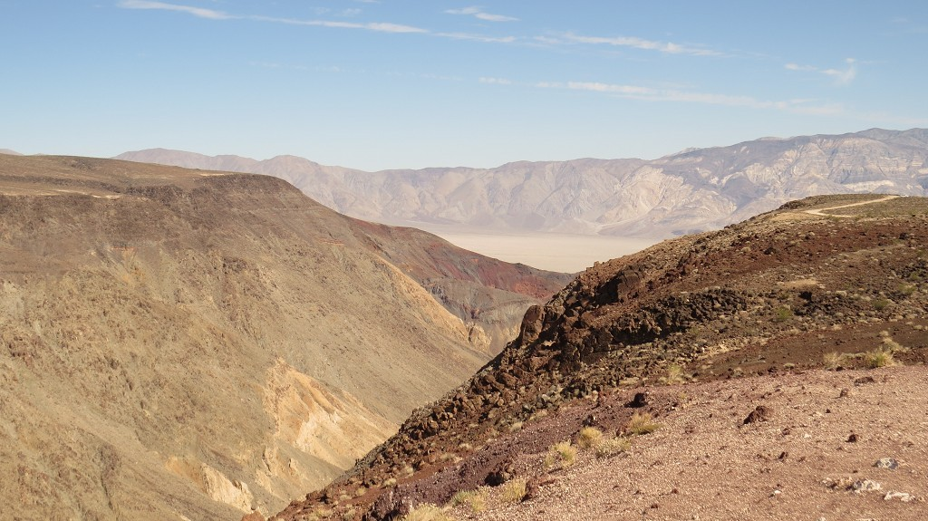 Blick ins Death Valley