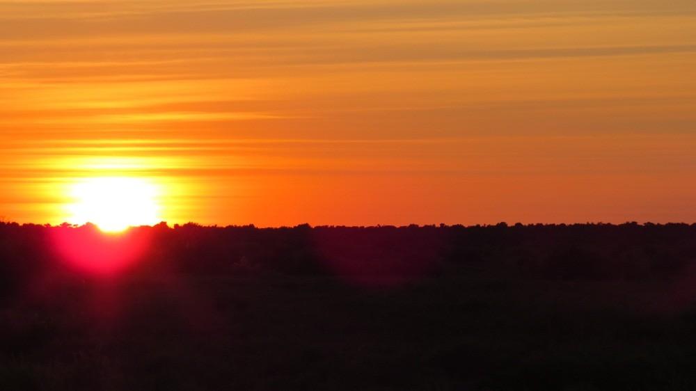 6:30 Uhr: Sonnenaufgang      1. Tag
