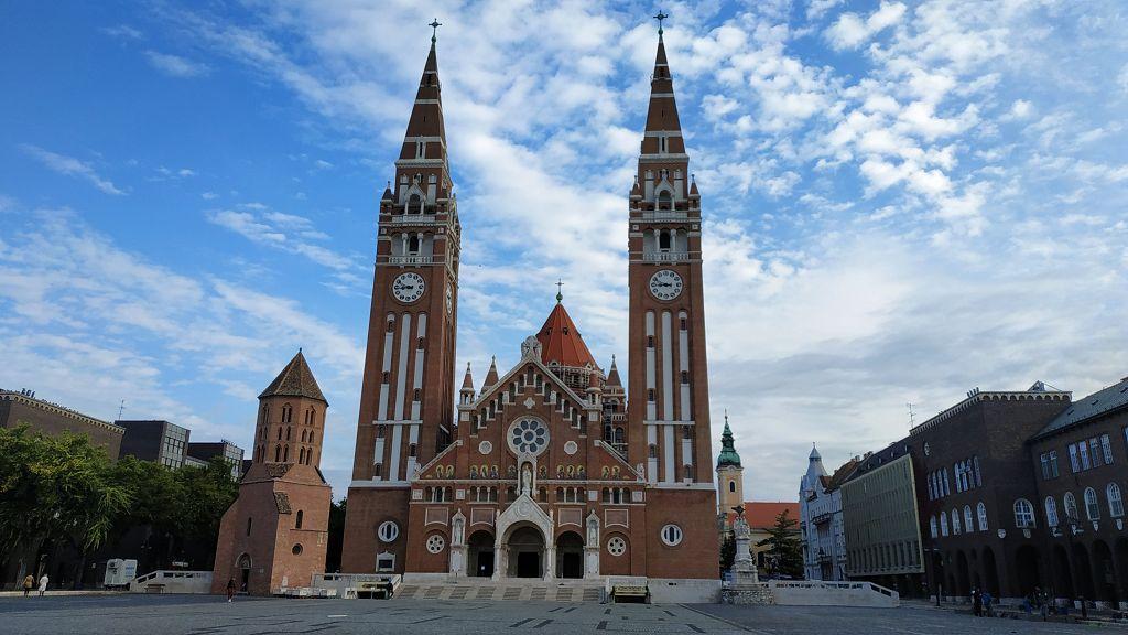 Unterwegs in Szeged, Ungarn - an der Grenze zu Rumänien