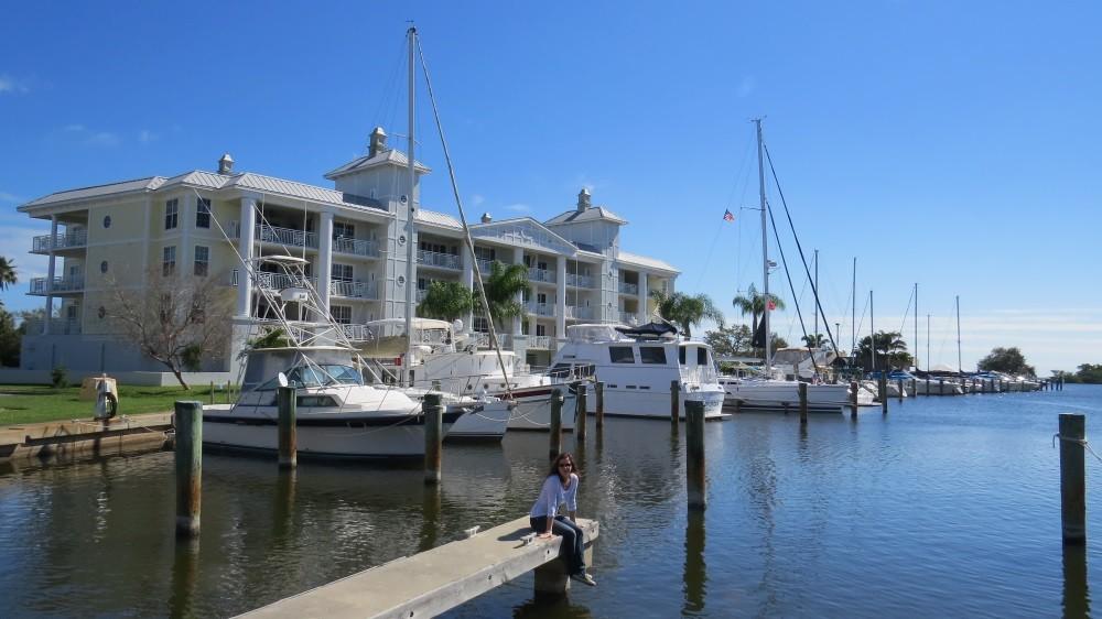 Spaziergang an der Waterfront...