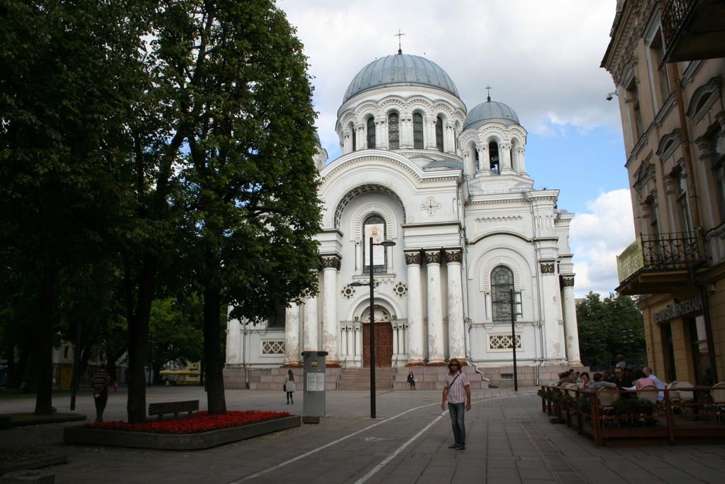 Kaunas: Erzengel-Michael-Kirche