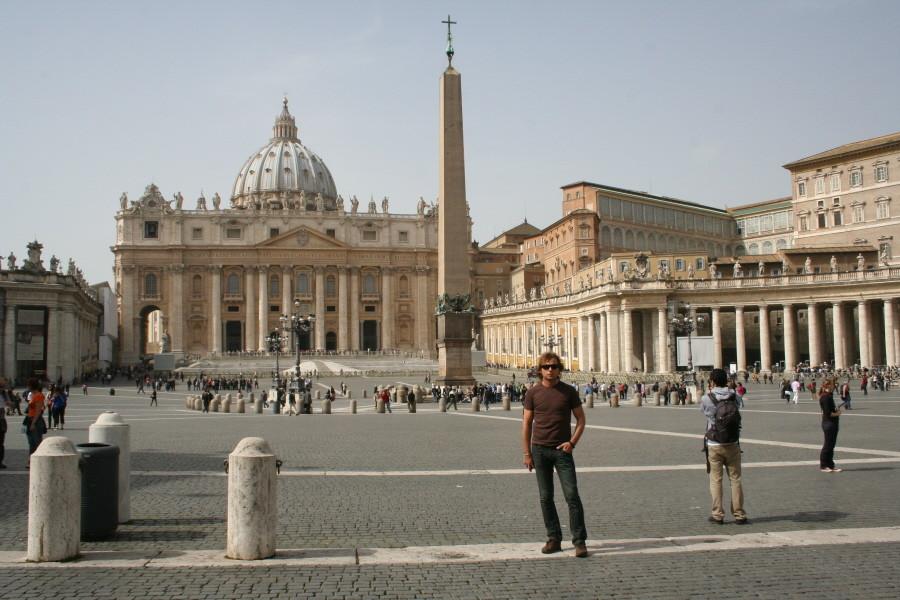 Petersplatz und Petersdom