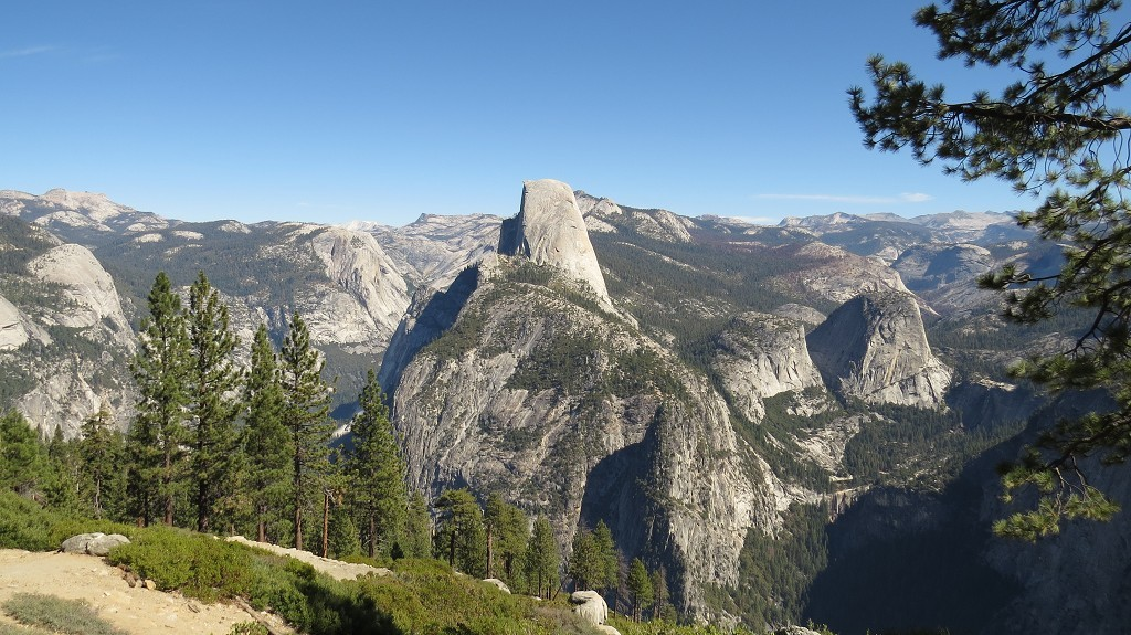 Blicke vom Glacier Point