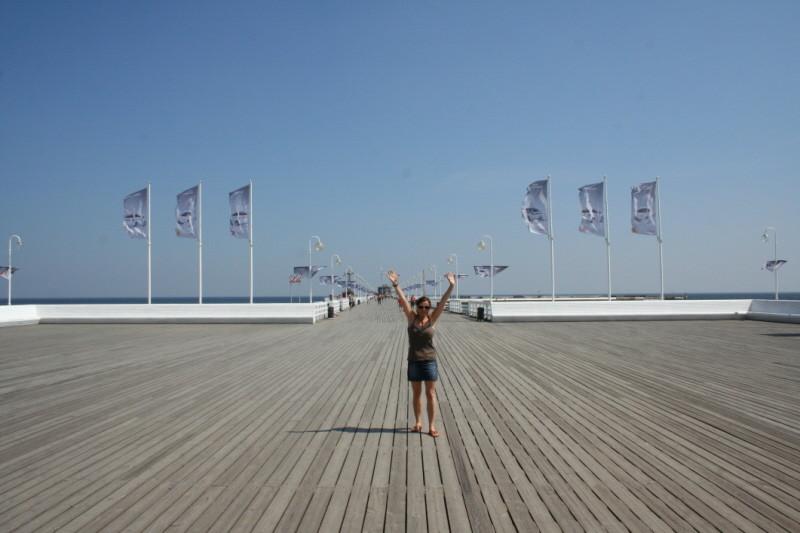 die Seebrücke mit ihren 511,5 m
