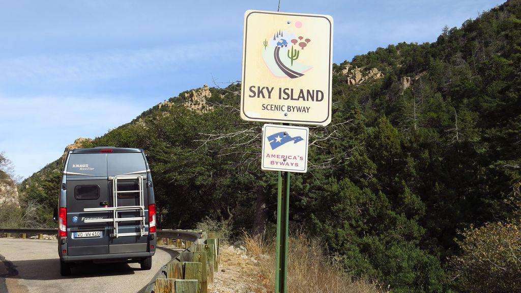 durch die Catalina Mountains