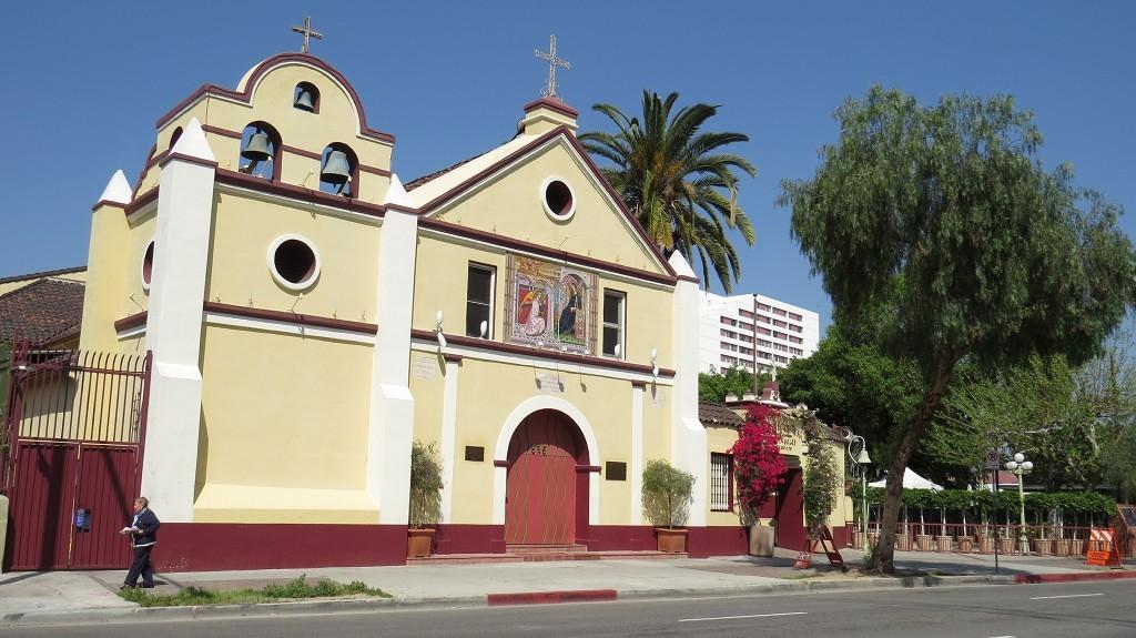 El Pueblo, hier wurde 1781 Los Angeles gegründet