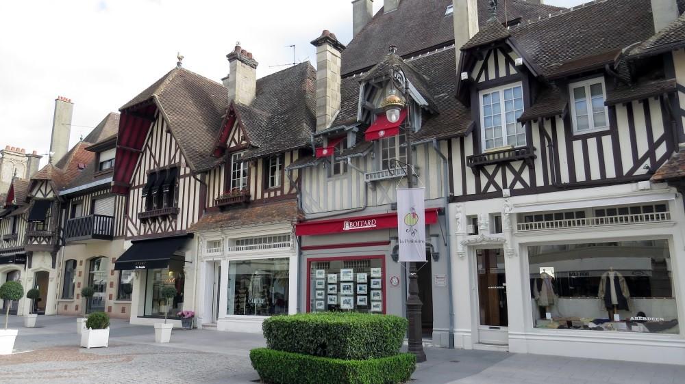 Stadtbummel durch Deauville