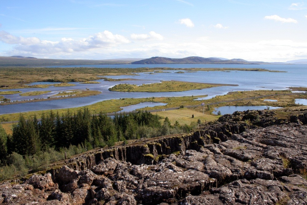 Islands größter See, der Pingvallavatn