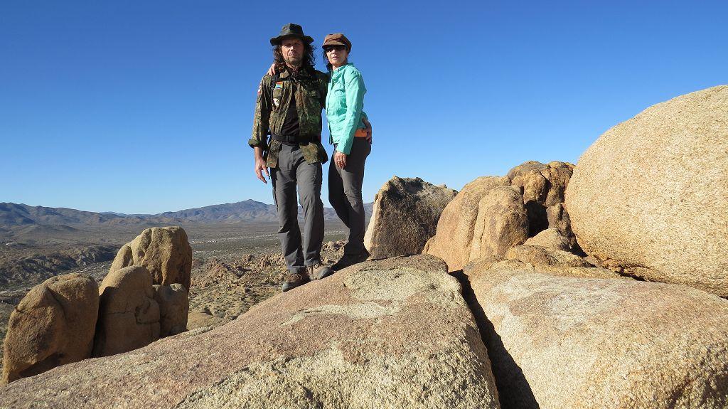 Auf dem Mastodon Peak